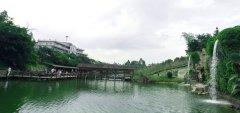 龙凤山庄中式长廊