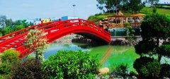 龙凤山庄日本红桥
